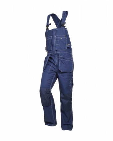 Blaklader 2600 Bib Overalls 100% Cotton Twill (Navy Blue)